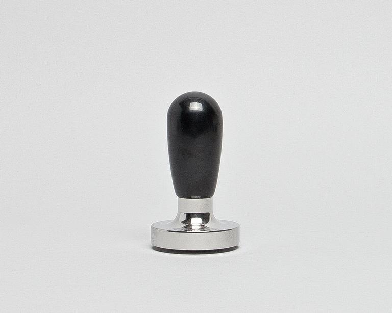 solider schwerer tamper aus chromstahl mit bakalitgriff. Black Bedroom Furniture Sets. Home Design Ideas